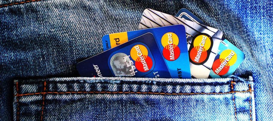 Kreditní karty v kapse